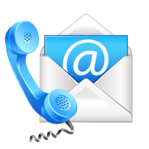 email & telephone